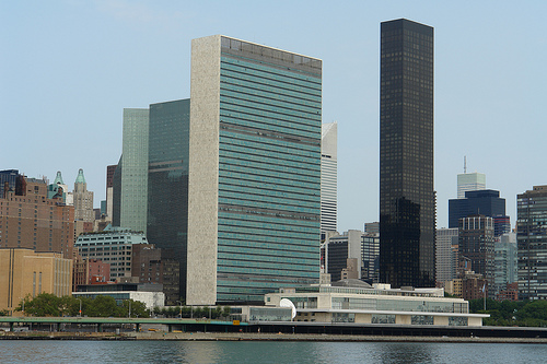 United Nations and Trump World Tower © MD111