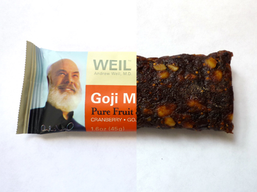 Andrew Weil MD Goji Moji Bar