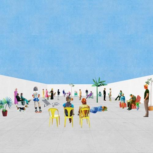 The Moment for the Generic is Now, um espaço genérico para ocupações específicas criado pelos arquitectos portugueses fala atelier (Filipe Magalhães e Ana Luisa Soares) através de um muro de 10x3x10 metros. © fala atelier