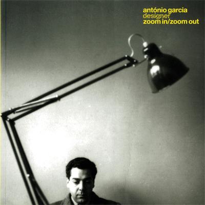 Capa Catálogo exposição António Garcia, Designer - Zoom In / Zoom Out, 2010. © TVM Designers