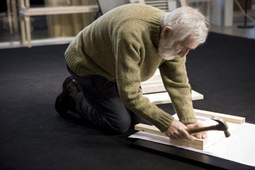 Enzo Mari, Sedia 1 Autoprogettazione, 2010. © Juoko Lehtola